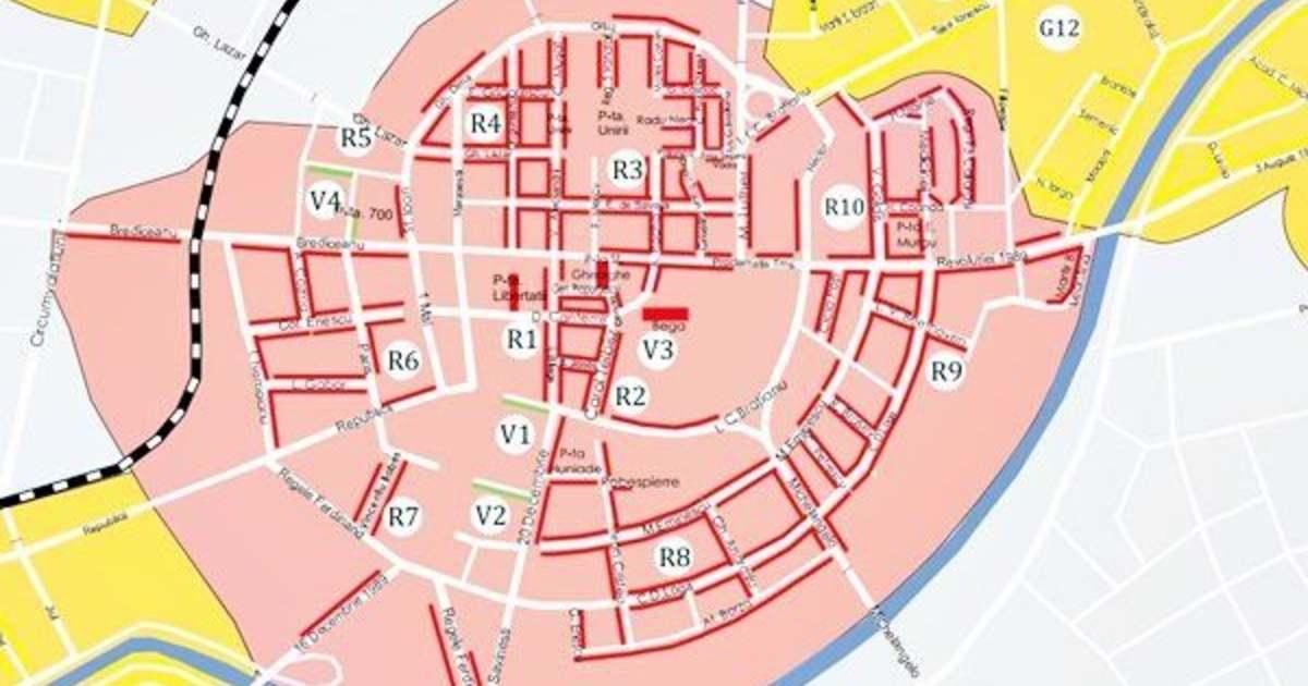 Desfiintarea Locurilor De Parcare Din Centrul Timisoarei In Cifre