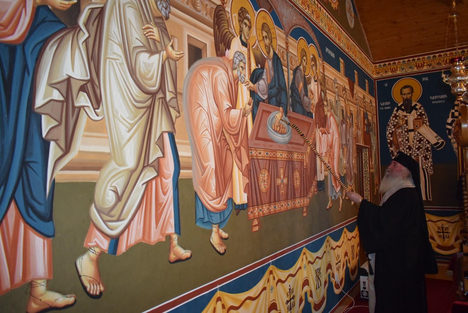 Mitropolitul Banatului a sfințit pictura mănăstirii Timișeni – Șag