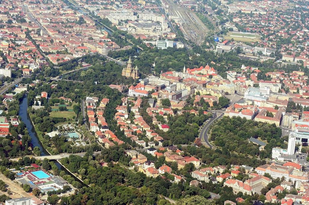 E anul noilor parcuri la Timișoara