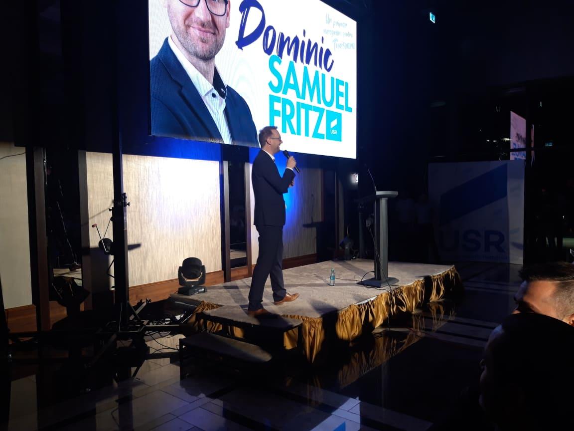 Dominic Fritz și-a prezentat programul de campanie: Voi fi un primar european pentru un oraș european