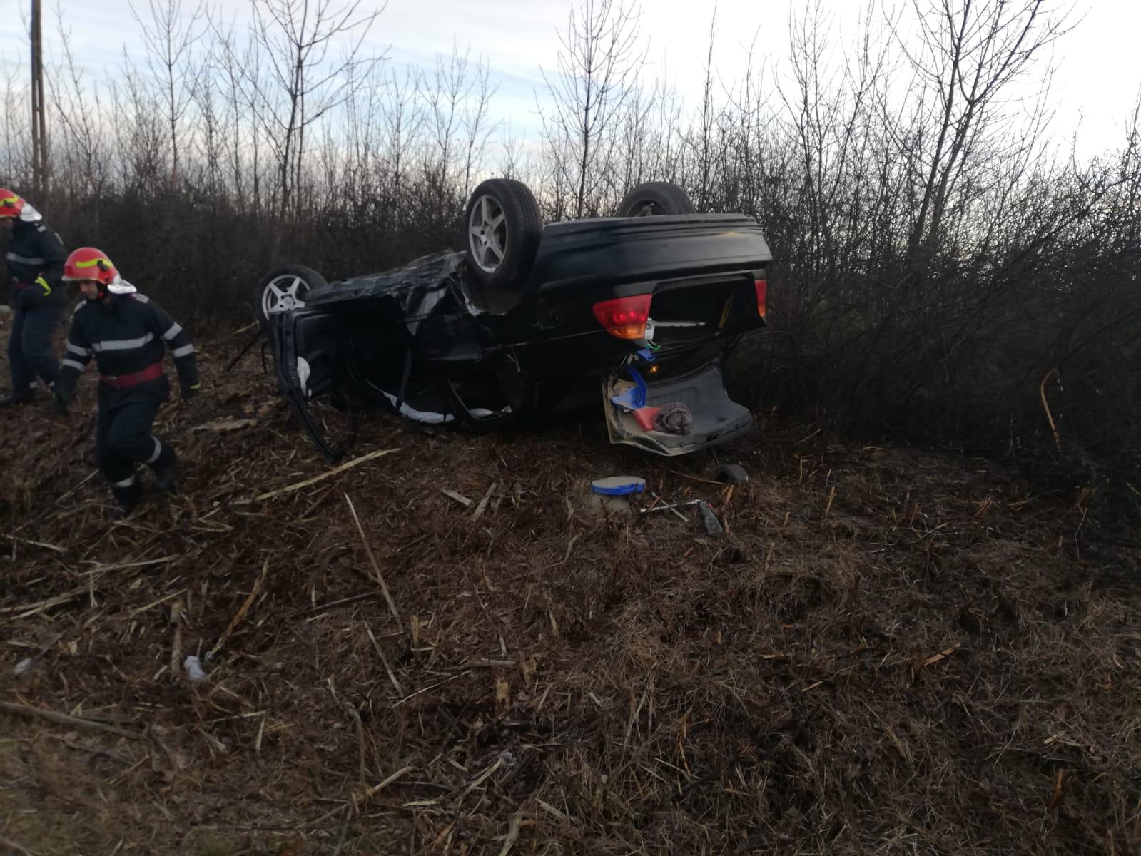 Patru accidente rutiere soldate cu 10 victime, în Timiș