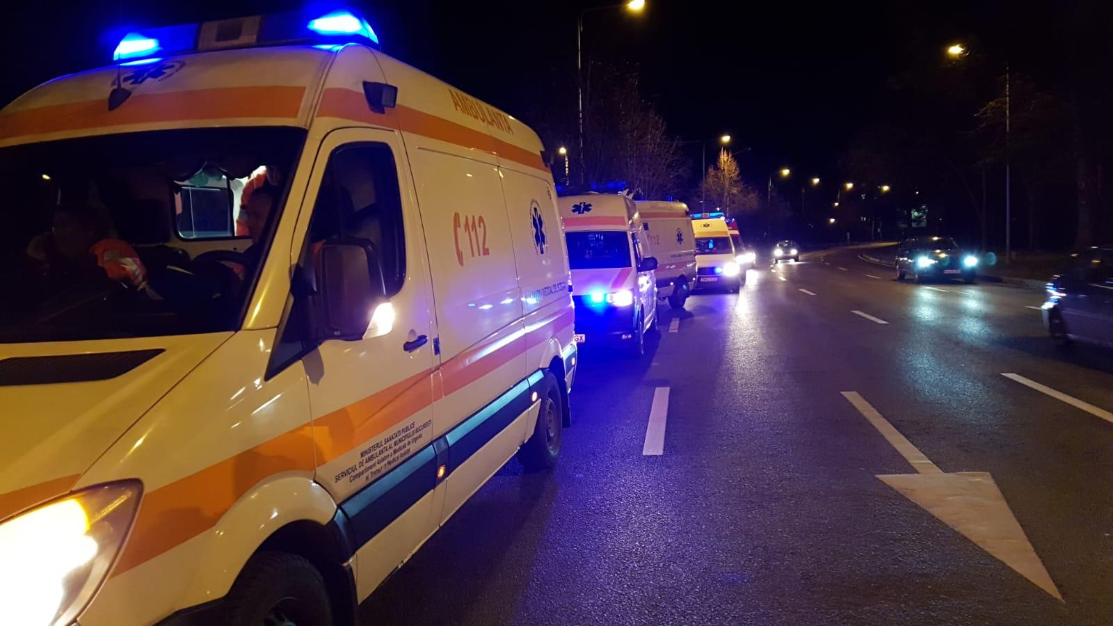 Mai multe echipaje de poliție, ambulanță și pompieri puse pe drumuri de un individ pus pe glume care a sunat la 112