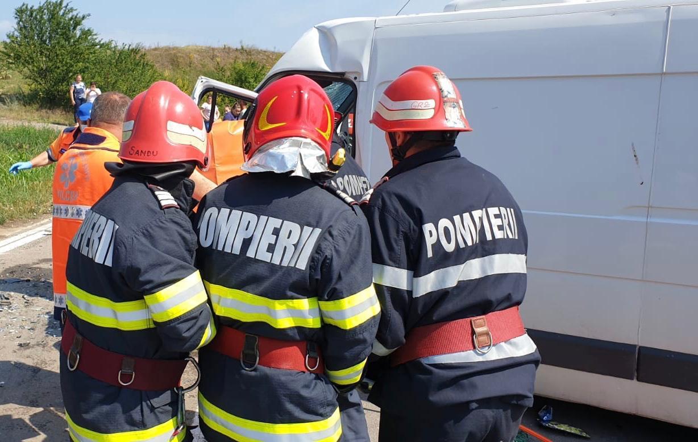 Pompier timișean salvator chiar și în concediu, în județul Tulcea