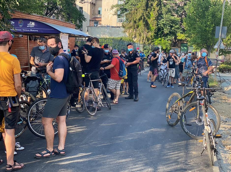 Zi de doliu pentru bicicliștii din Timișoara