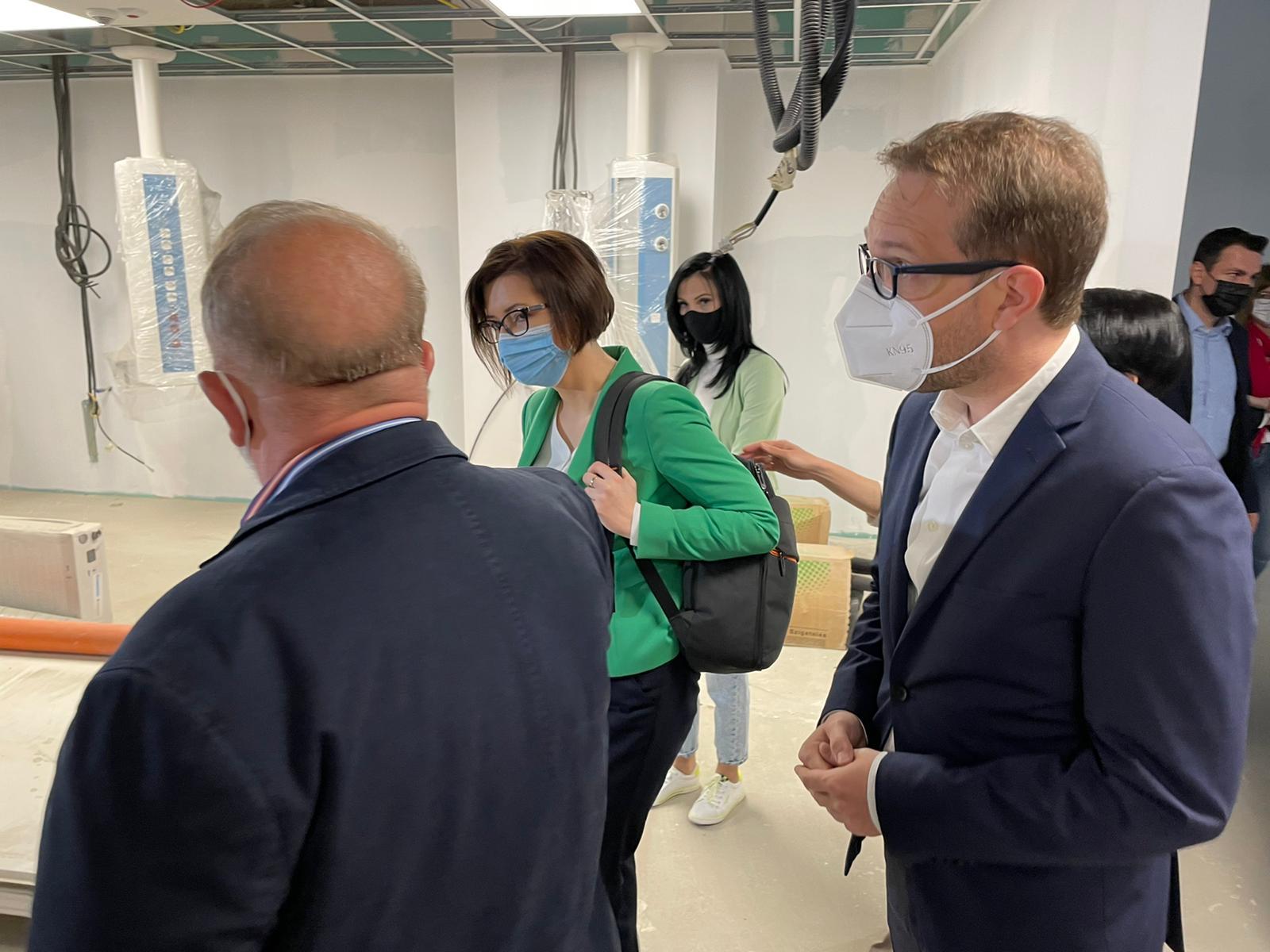 Vizita ministrului Sănătății la Spitalul de Copii