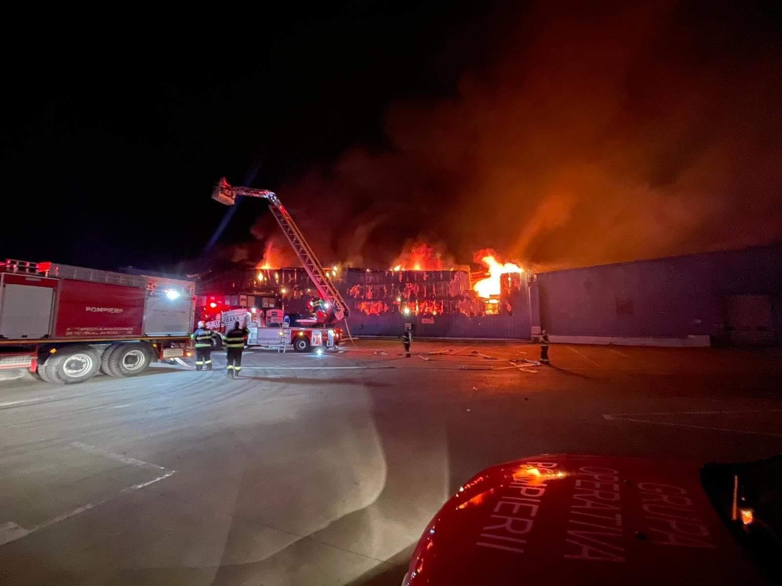Incendiu fabrica Frigoglass
