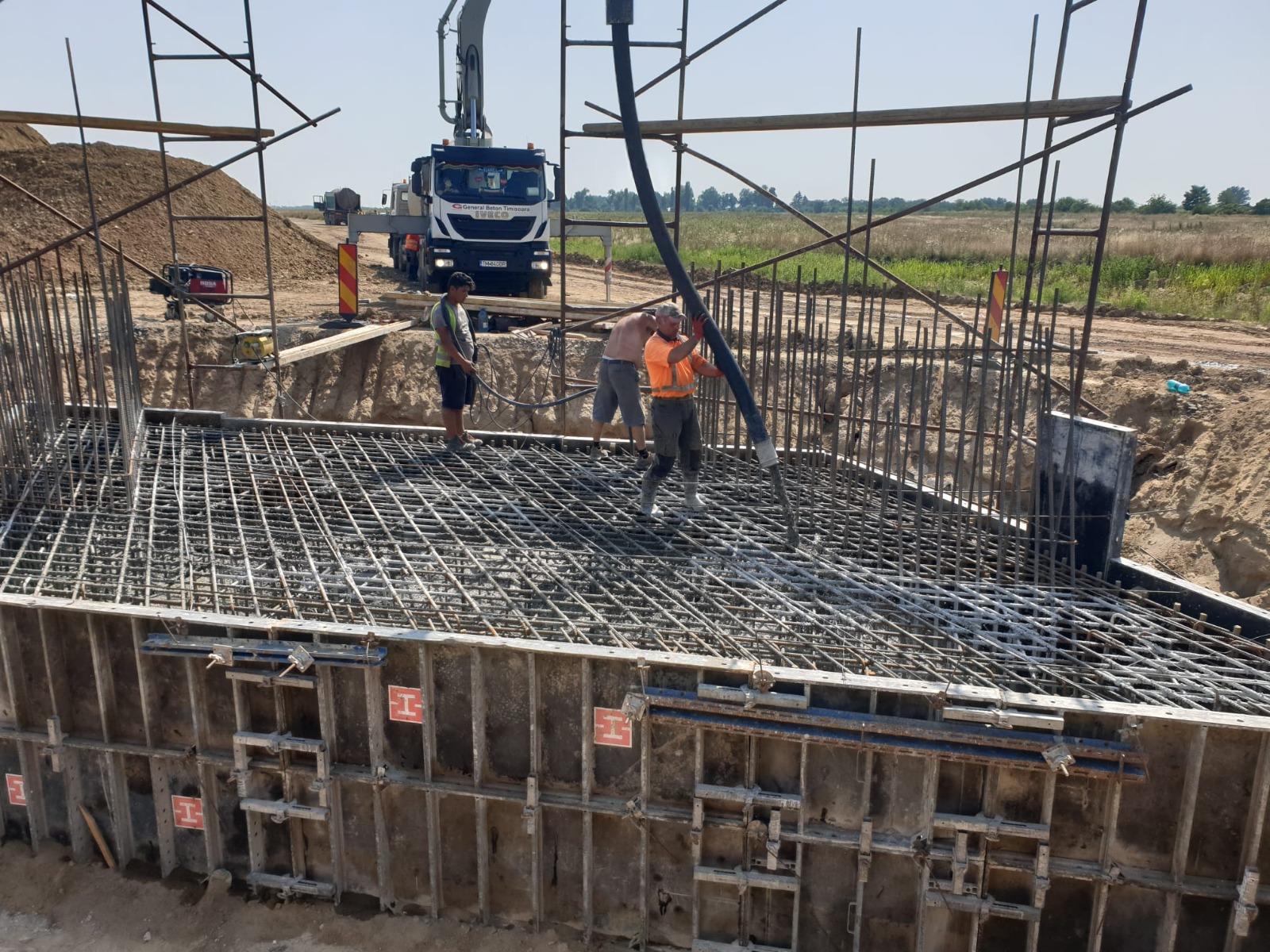 Centura Timișoara Sud: stadiul lucrărilor a trecut de 30%