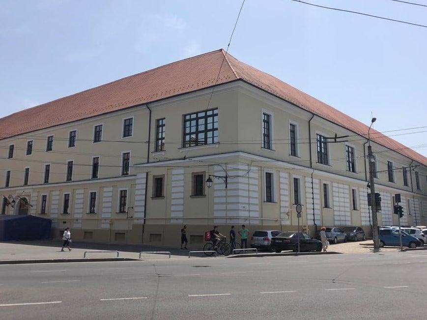 Spitalul Militar are fațade noi