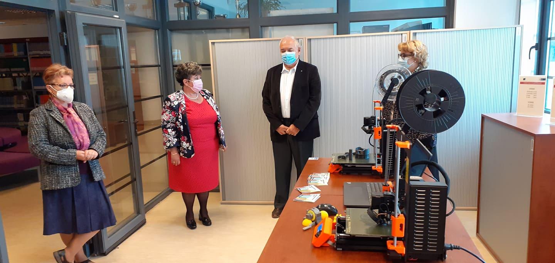 Printarea 3D, un nou serviciu la Biblioteca UPT